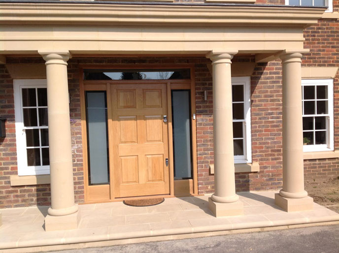 Custom Made Wooden Doors In Surrey Including Hardwood And